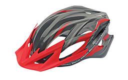 Шлем Spelli SBH-5500, черно-красный