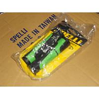Грипсы на руль SPELLI SBG-6708L 127мм., черно зеленые