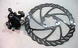 Дисковый тормоз Alhonga (машинка+ротор)