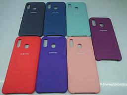Чехол Silicone Cover для Samsung Galaxy A60