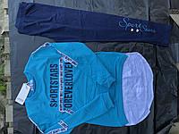 Костюм для девочек с лосинами и кофтой подростковый,фирма GRACE, фото 1