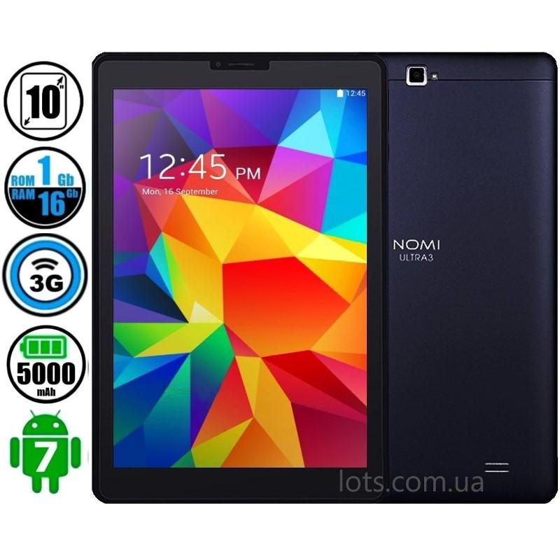 Планшет Телефон Nomi C101012 Ultra 3 16Gb Dark Blue (3G) 2-Sim