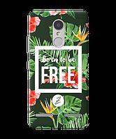 Силиконовый чехол Zorrov для Lenovo K6 - Born to be free (0139-236)