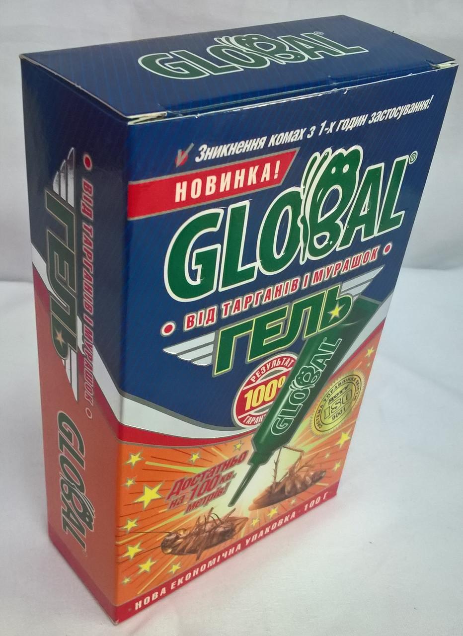 Инсектицидное средство от тараканов и муравьев Global/Глобал гель в тубе,  100 гр, Глобал-Агротрейд, цена 277 грн., купить в Харькове — Prom.ua  (ID#741416119)