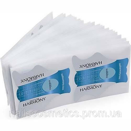 01239 HARMONY NAIL FORMS 100 шт. - бумажные одноразовые формы для ногтей