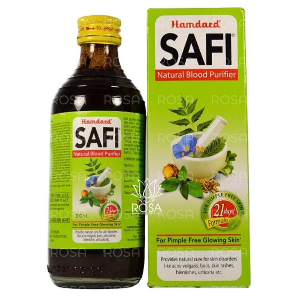 Cафи Сироп (Safi Surup, Hamdard) аюрведический препарат для очищения крови, 200 мл
