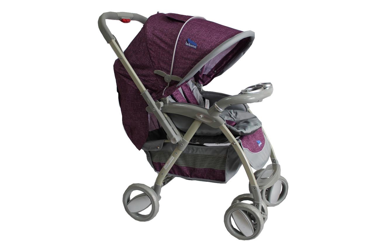 Детская коляска-книжка LaBona Baby Line T-102 фиолет