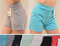 Шорты короткие женские цветние в больших размерах L/XL,2XL/3ХL,4XL/5XL,5XL/6XL дайвинг Jassire Польша 4кармана