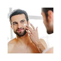 Правильно брить лицо мужчине, фото