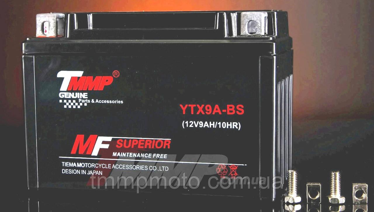 Акумулятор 12v9a.h. MF пастовий TMMP