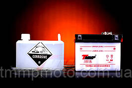 Аккумулятор 12V/4A ТММР заливной с электролитом