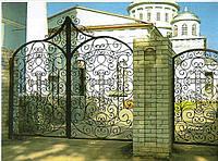 Ворота кованые распашны