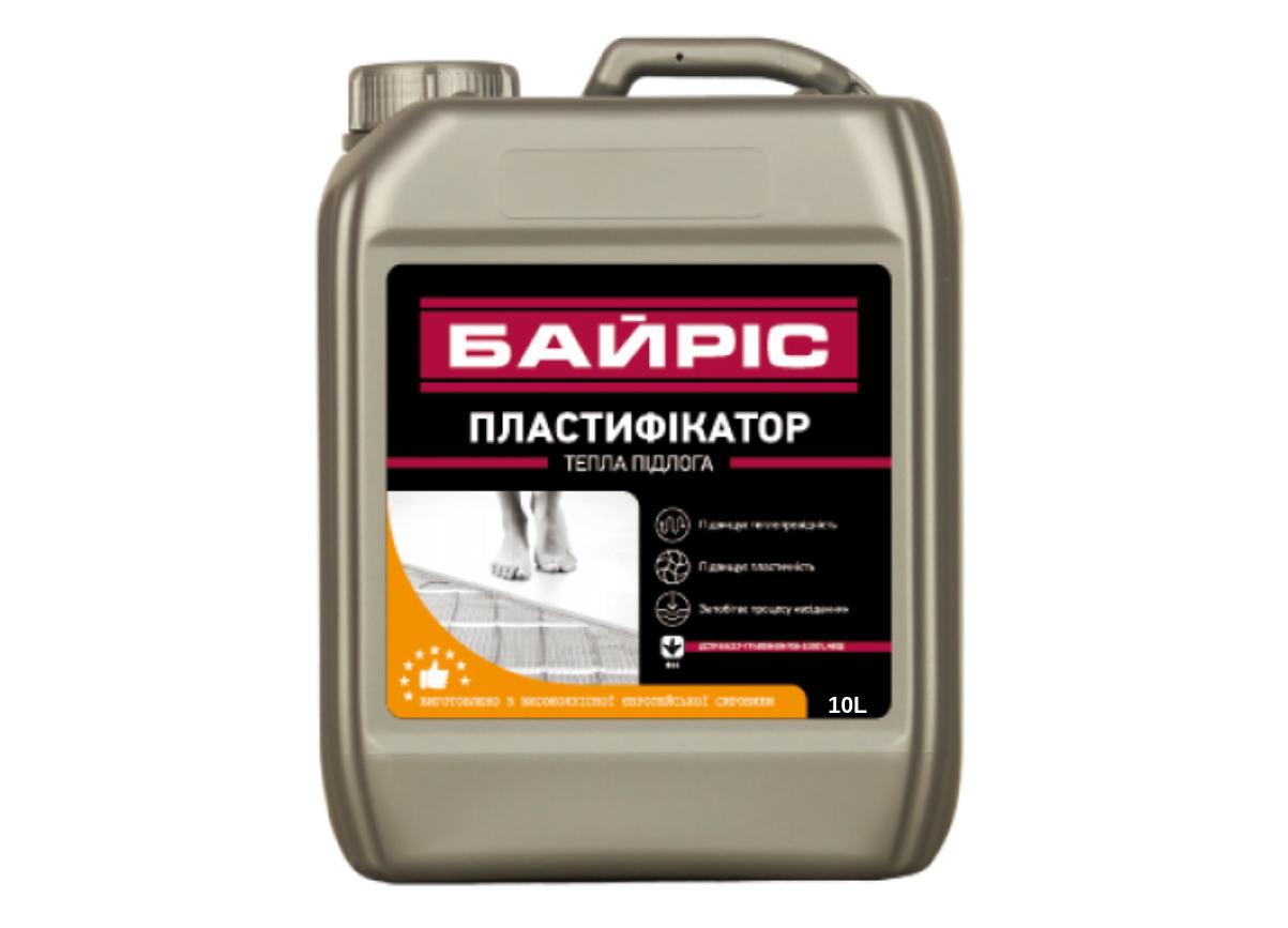"Пластификатор Байрис ""Теплый пол"" 10л"