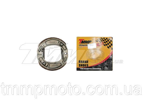 Колодки гальмівні Delta (коса пружина) TMMP 50/72/90/100/110 см3, фото 2