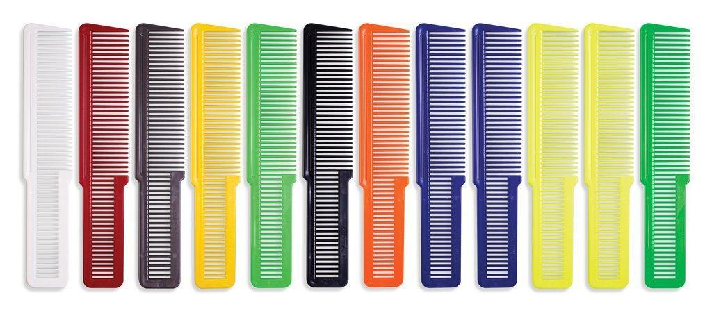 Расческа плоская Wahl 4502-7181 Colored Flat Top, 1 шт.