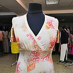 Блуза на запах итальянский трикотаж хлопок 48-50, фото 2