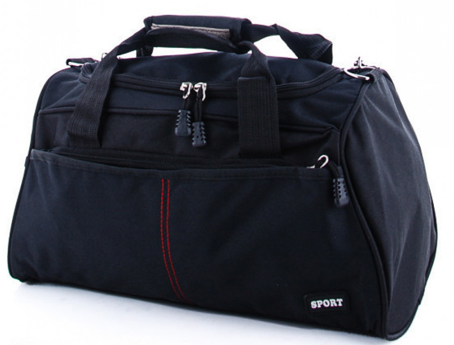 Спортивная сумка из ткани BR-S 978425377 черная