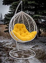 """Подвесное кресло кокон """"Эко Премиум"""" (белый)"""