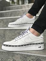 Мужские кроссовки Nike Air Force White\Чоловічі кросівки Найк Аир Форс Білі/Найк Аир Форс Белые