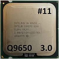 Процессор ЛОТ #11 Intel® Core™2 Quad Q9650 SLB8W  3.0GHz 12M Cache 1333 MHz FSB Soket 775 Б/У, фото 1