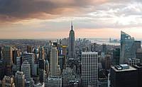 Фотообои 3D (флизелиновые 368х254 см) Нью-Йорк Вид на город (133.20353)