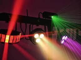 Світлоприлади LED (світломузика)