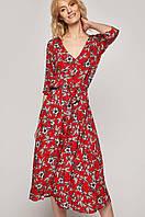 Платье летнее миди в цветочный принт MEDICINE