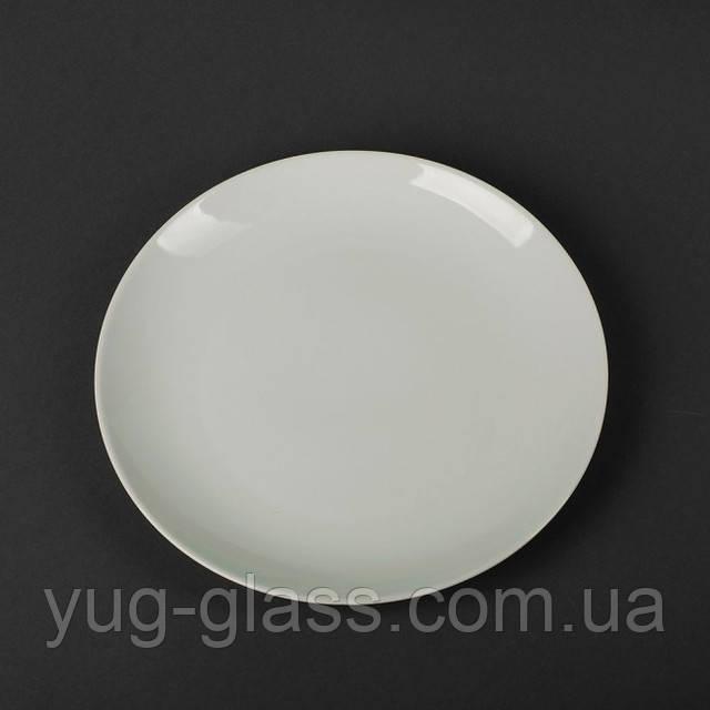 Підставна біла тарілка 23 см