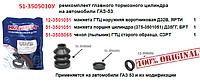 Ремкомплект главного тормозного цилиндра на автомобили ГАЗ-53, КАМРТИ, 51-3505010У