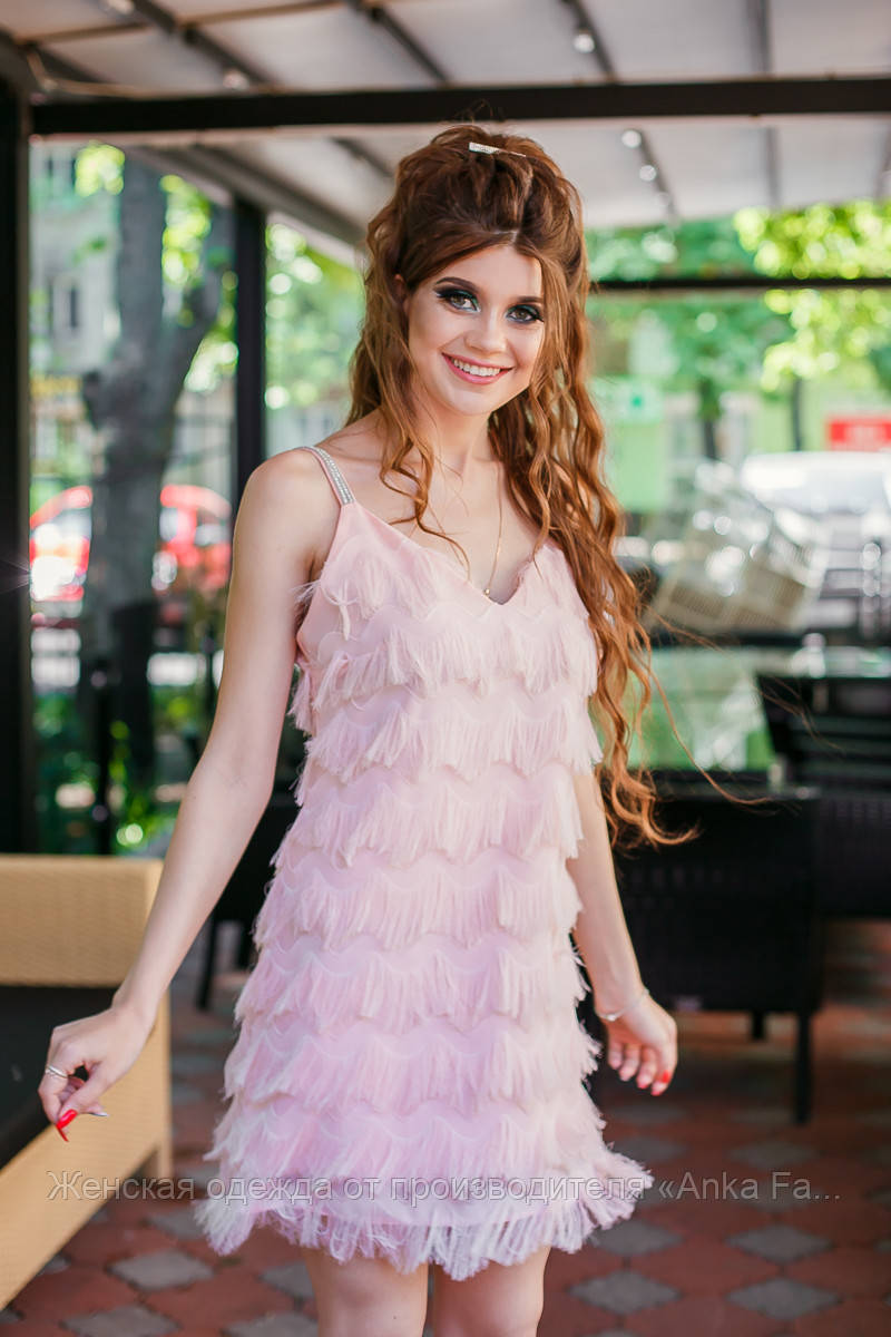 Летнее мини платье