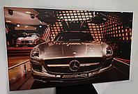 Картина на холсте Mersedes AMG 100 х 60 см, фото 1