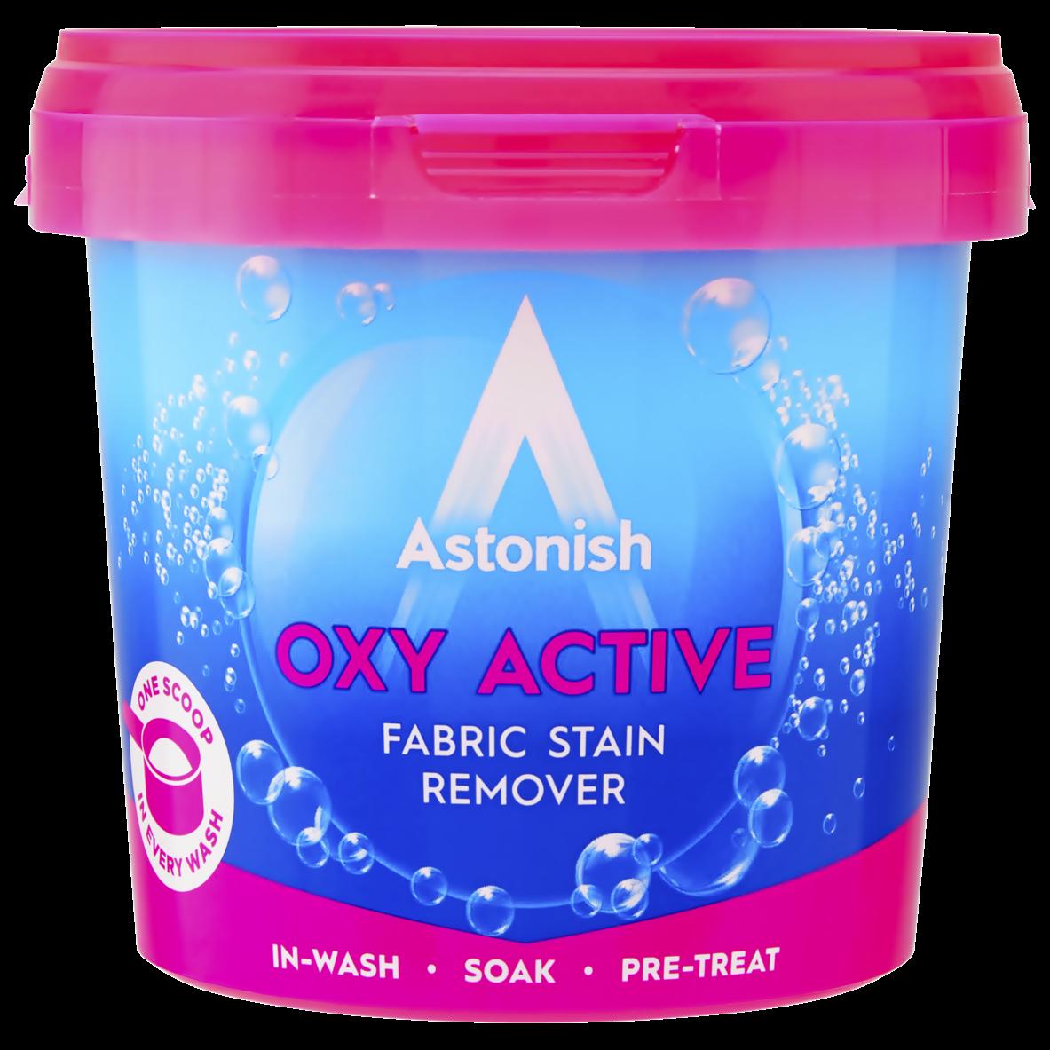 Універсальний плямовивідник з активним киснем Astonish Oxy Active 500 г