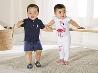 Детские пинетки кожа Lupilu 16\17-11.5  для мальчиков