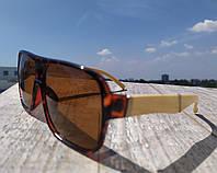 Солнцезащитные очки беж.дужки мужские в стиле Ray Ban