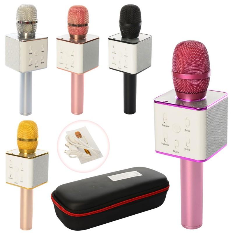 Беспроводной микрофон с HIFi динамиком Q7