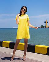 Платье женское зелёное, сирень, малина, жёлтое, фото 1