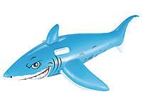 Плотик надувной Bestway 41032 Акула 183 х 102 см, фото 1
