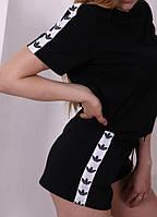 Шорты женские Adidas 19799 черные