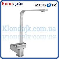 Смеситель для кухни Zegor LEB4-A-KH WKB123 (Нержавейка)