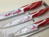 Набор ножей с керамическим покрытием 3шт