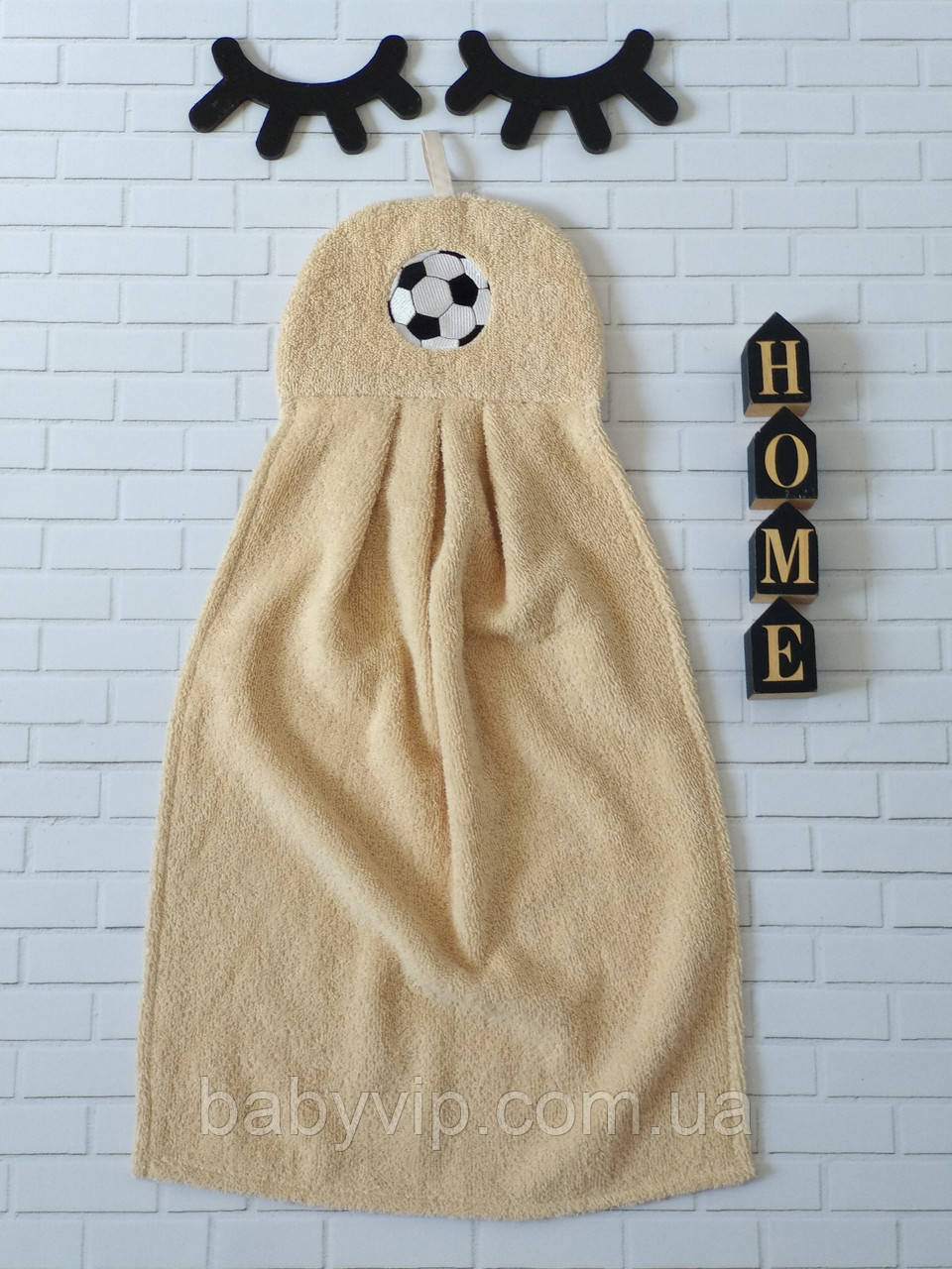 Детское полотенце для рук мяч