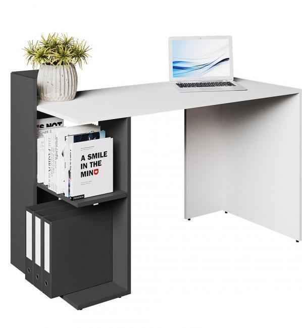 """Стіл письмовий """"HO-shelf"""" від VMV Holding 120см (графіт)"""