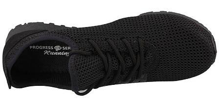 Кроссовки мужские PR-G черные летние сетка 40 р. 26 см (983202056), фото 3
