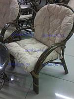 Плетеное кресло 0125 В из натурального ротанга King of Rotang