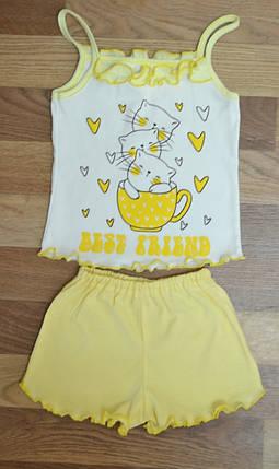 Пижамка-домашний костюм для девочек, фото 2
