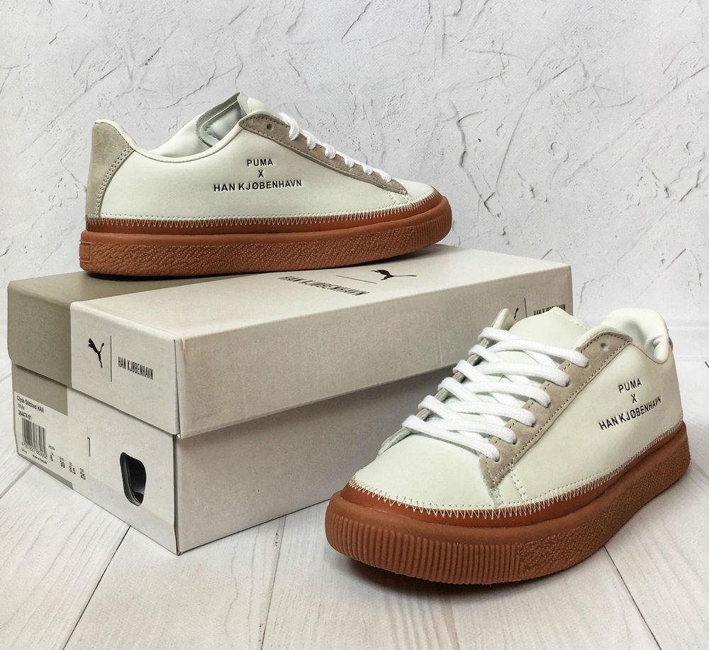 size 40 b7a22 8dd42 Puma x Han KJØBENHAVN Clyde White Gum | кроссовки женские; кожаные; белые:  продажа, цена в Киеве. кроссовки, кеды повседневные от