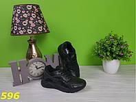 Кроссовки хуарачи черные с высокой пяткой 36 (596)