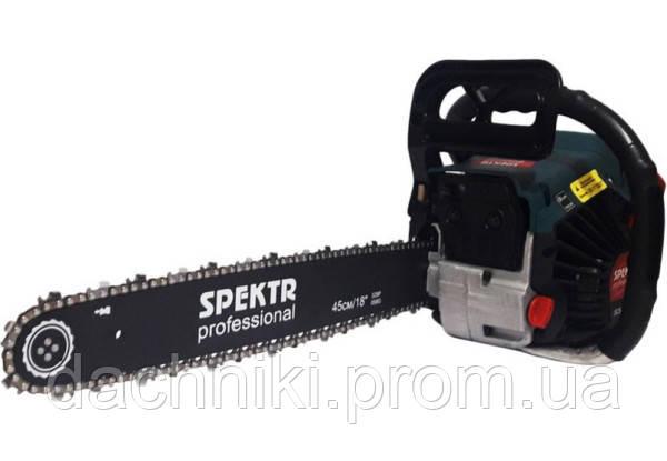 Бензопила Spektr SCS-6700 2 шины 2 цепи металл,плавный пуск,праймер
