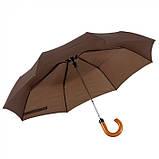 Зонт мужской полуавтоматический складной, розница + опт \ es - 901011, фото 3