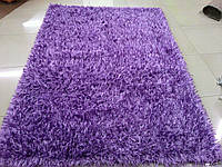 Ярко фиолетовый ковер с люкрисовой нитью